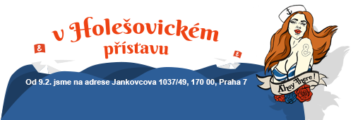 You can find us on new address Jankovcova 1037/49, 170 00, Praha 7